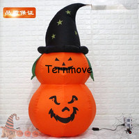 Outdoor Decoration Inflatable Halloween Decorations Inflatable Pumpkin with Led Light Yard Decoration Seasonal free shipping