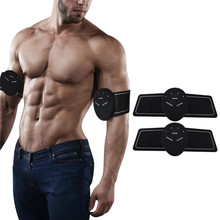 Intelligent ABS Stimulator Abdominal Muscle Trainer Fitness Equipment Leg Arm Exercise Weight Loss Slimming Massager Toning Belt vibroaction massager electronic body muscle arm leg waist abdominal massage exercise muscle training belt slim fit weight loss