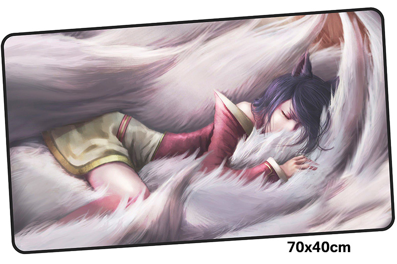Ahri mousepad gamer 700x400X3MM gaming mouse pad large Mass pattern notebook pc accessor ...