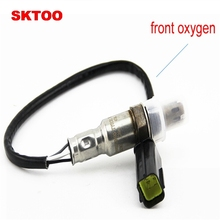 SKTOO 2PCS For 2008 2010 models Chevrolet Captiva 2.4L oxygen sensor front 96418971 rear 96415640