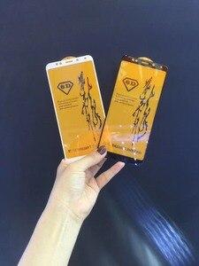 Image 2 - Bonaier トップ品質のフル糊すべて表面 (空気) 9 H 強化ガラス Xiaomi Redmi 5 プラス Redmi 5 + スクリーンプロテクター