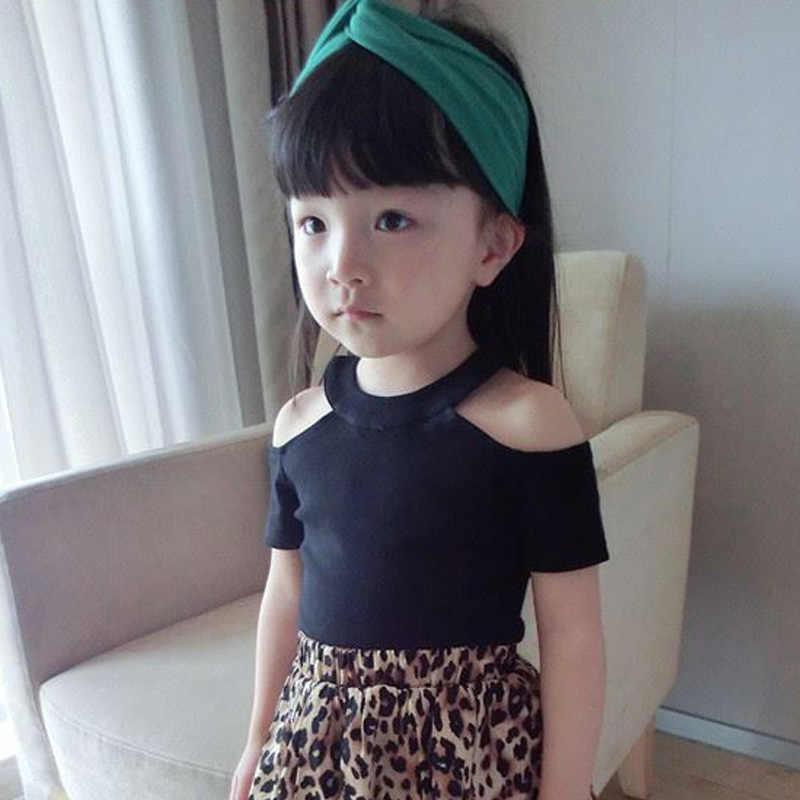 Enfants filles T shirt à manches courtes évider enfants t-shirts pour haut pour fille vêtements vêtements été printemps fille vêtements
