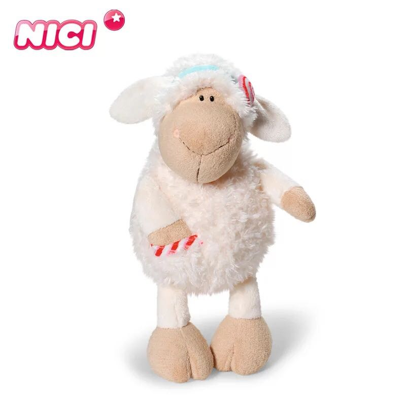candice guo nici plush toy stuffed doll animal jolly mah dolly sheep sweet candy pocket lamb. Black Bedroom Furniture Sets. Home Design Ideas