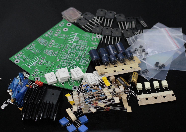 1 ペア HM3S 高バイアスクラス AB アンプキットベースにゴルトムント GM29 120 ワット + 120 ワット  グループ上の 家電製品 からの 回路 の中 1
