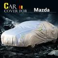 Cubierta del coche Auto Sol Anti-Ultravioleta de Nieve Lluvia Cero Polvo Prevent Cubierta a prueba de agua Para Mazda 2 3 626 CX-7 8 Atenza Millenia Homenaje