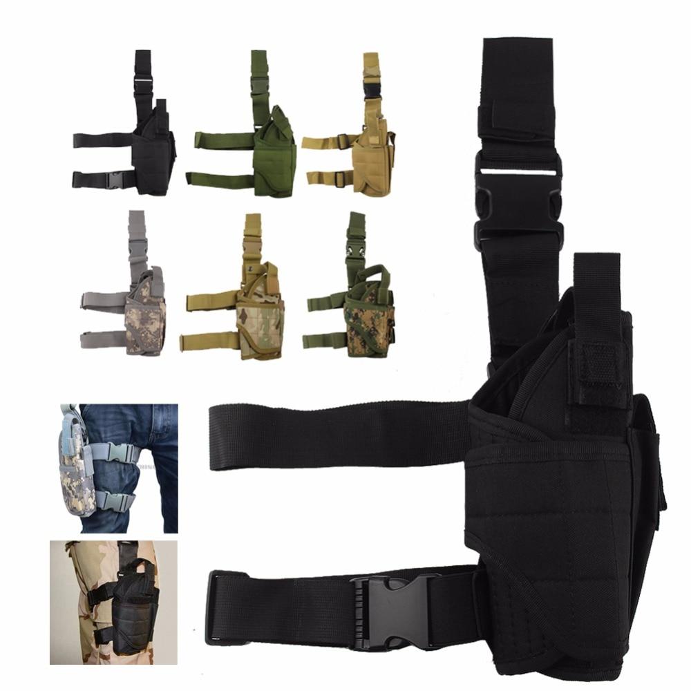 Universal Holster Molle Gun Outdoor Tactical Leg Holster Pistol/Gun Drop Leg Thigh Holster 31-0009 sig sauer p226 p228 p229 holster tactical hunting puttee thigh drop leg holster