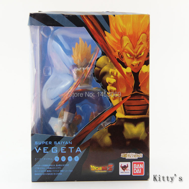 Dragon Ball Z Super Saiyan Vegeta Battle PVC Action Figure