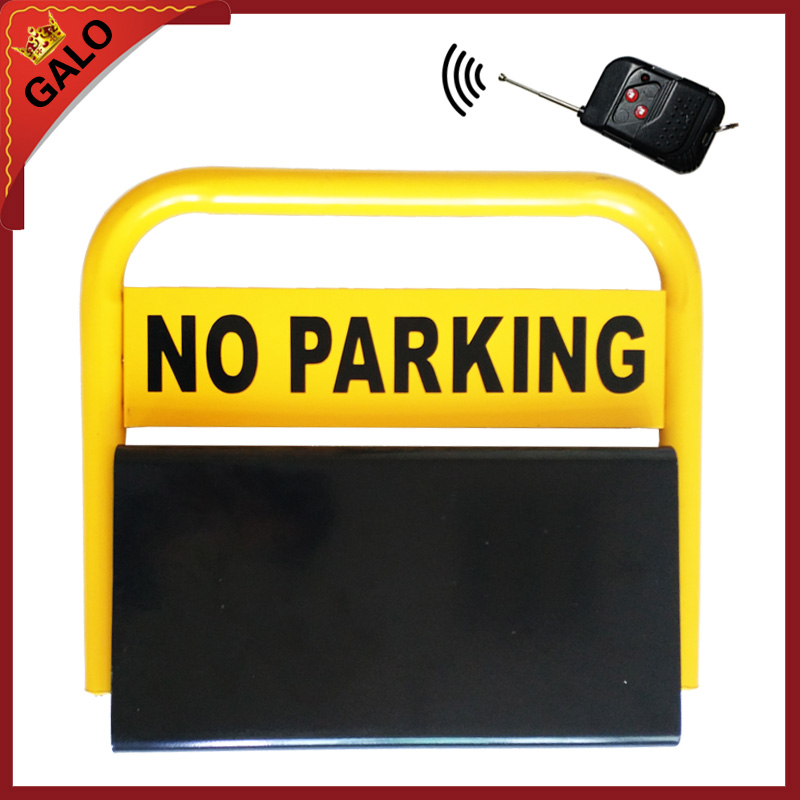 outdoor used water proof remote control battery powered automatic parking barrier parking lock parking space saver half ring shape of the block machine parking barrier lock