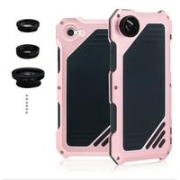 Luxury Doom Armor Dirt Shock Waterproof Metal Aluminum Cell Phone Case For Iphone 7 4 7