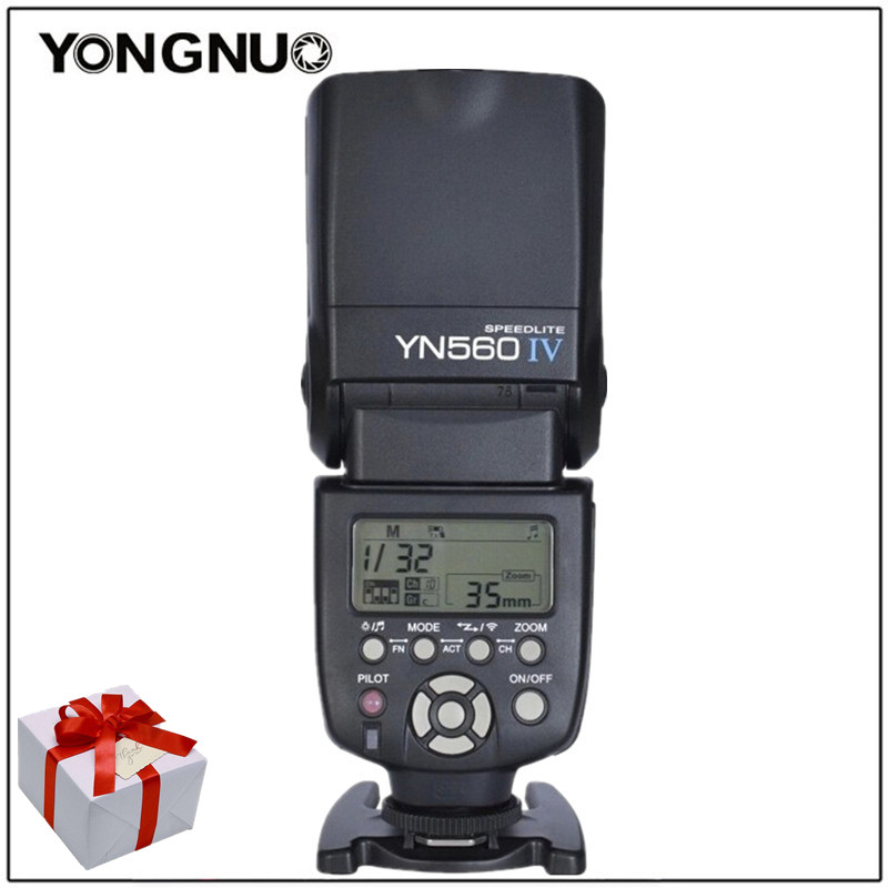 Yongnuo YN560IV YN560 IV YN 560 Flash Speedlite 1/200S - 1/20000S Sound Indicator For Canon Nikon Olympus Pentax Wireless yongnuo yn560 iv yn560iv wireless master slave flash speedlite for canon nikon pentax olympus fujifilm panasonic dslr cameras