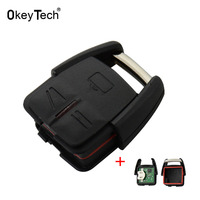 OkeyTech 2pcs Lot 3 Buttons Auto Car Alarm Remote Control Keyless Fob Case 433 92Mhz For
