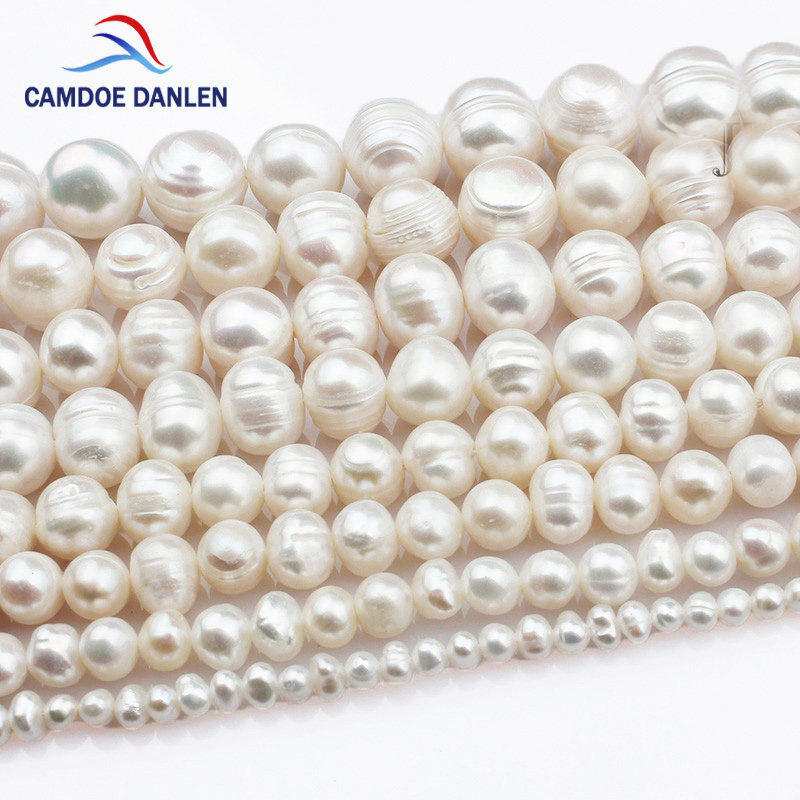 HI-Q Natural Freshwater Pearl Beads Random Mixed Rice-shaped Loose Beads For Jewelry Making DIY Semi-finished Necklace Bracelet
