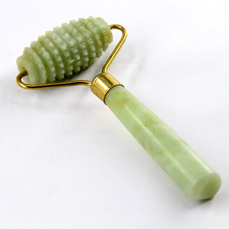 Portable Pratical Jade Facial Massage Roller Anti Wrinkle Healthy Face Body Head Foot Nature Beauty Tool women man facial massage face body head neck foot nature beauty tool jade roller