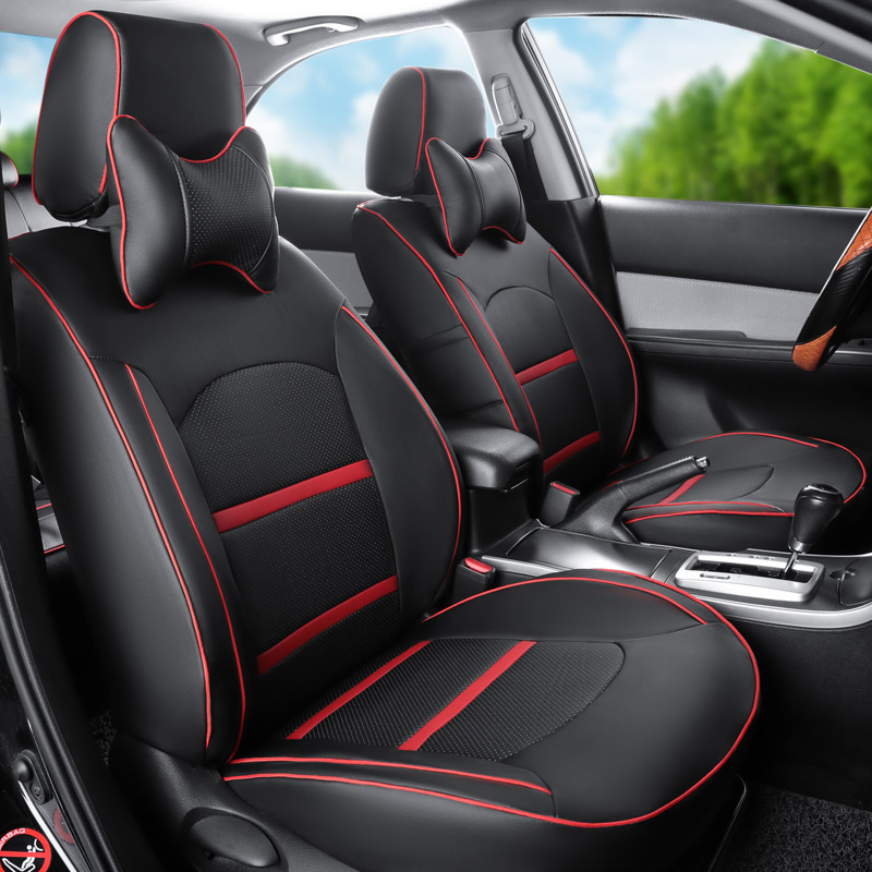 CARTAILOR Car Seat Covers Leather Fit For Jeep Wrangler 2014 2015 2013 2012 Seats Accessories Set Front Back Protector In Automobiles