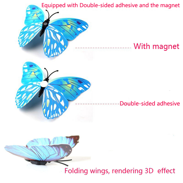 Unique Birthday Gift 50 PCS Flying Butterfly