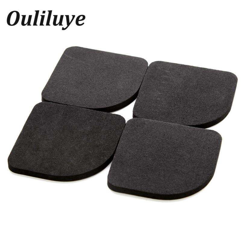 4PCS/Lot Anti Vibration Pads Washing Machine Refrigerator Feet Pads Protective Furniture Chair Table Leg Pad Non-Slip Shock Mat