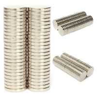 50pcs Mayitr N52 Neodymium Magnets Super Strong Round Rare Earth Magnets Disc 20mm X 3mm