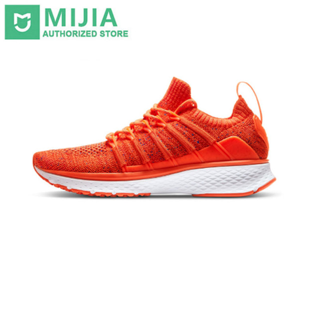 In Stock Xiaomi Mijia smart Sports 2 Uni-Mould Techinique New Fishbone Lock System Elastic Knitting Vamp for Women