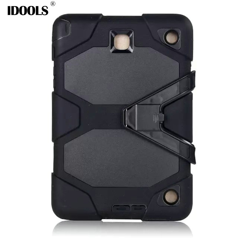For Samsung Galaxy Tab A 8.0 T350 T351 T355 Case 3 in 1 Hybrid Anti Dust Tablet Bags Cases For Samsung Galaxy Tab A T350 Funda hh xw dazzle impact hybrid armor kickstand hard tpu pc back case for samsung galaxy tab a 8 0 inch p350 p355c t350 t355 sm t355
