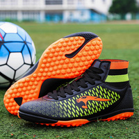 New Arrival High Ankle Football Boots For Adults And Kids Turf Soccer Shoes Hard Court Soccer