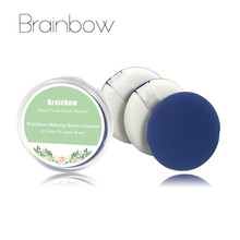 Brainbow 3pcs/box Makeup Air Cushion Sponge Puff Pro Dry Wet Dual Use Concealer Foundation Cream Smooth Powder Cosmetic Puff(China)