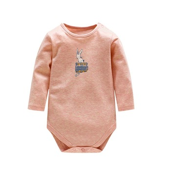 autumn baby footies 100% cotton long sleeve fleece footie pajamas warm for newborn baby infant boy girl outfit baby clothes Tender Babies 100% Cotton Baby Clothes Newborn Cotton Body Baby Long Sleeve Underwear Infant Boy Girl Pajamas Clot