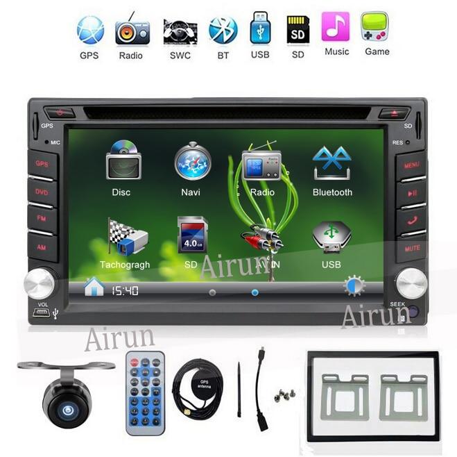 2 DIN Car DVD GPS Player Per NISSAN QASHQAI PATROL TREEANO VERSA - Elettronica per Auto