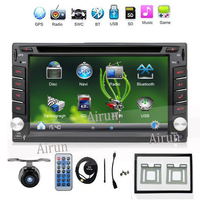 2 DIN Car DVD GPS Player For NISSAN QASHQAI PATROL TREEANO VERSA MURANO LIVINA NAVARA MP300 NV200 SENTRA Radio Stereo In Dash