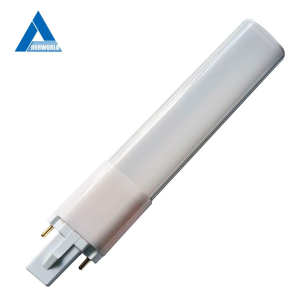 Bombilla led 220 V g23 4 W 6 W 8 W 10 W 2835 Bianco Freddo luz blanca cálida/blanco Natural/blanco frío