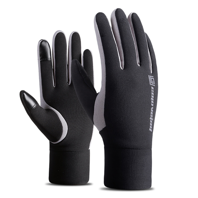 Outdoor Thickened Touch Screen Full-fingered Windproof Warmer Fleece-lined Gloves for Riding Skiing Snowboard Gloves стоимость