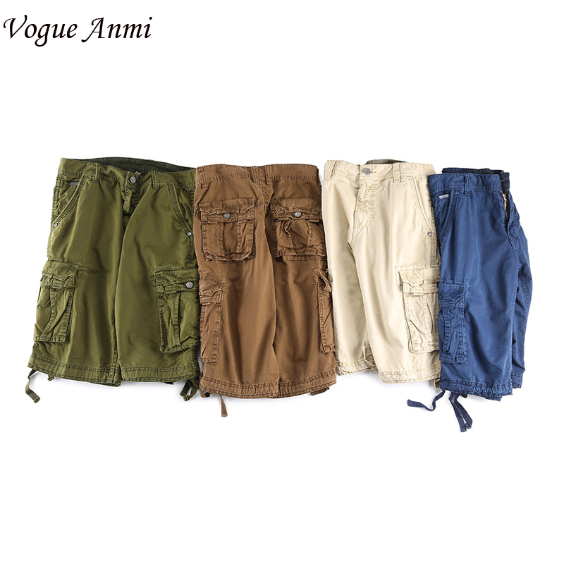 Vogue Anmi Shorts Man Brand Fashion Mens Bermuda Short Men Homme Casual Cargo Beach Shorts Men Summer Beachwear Military short