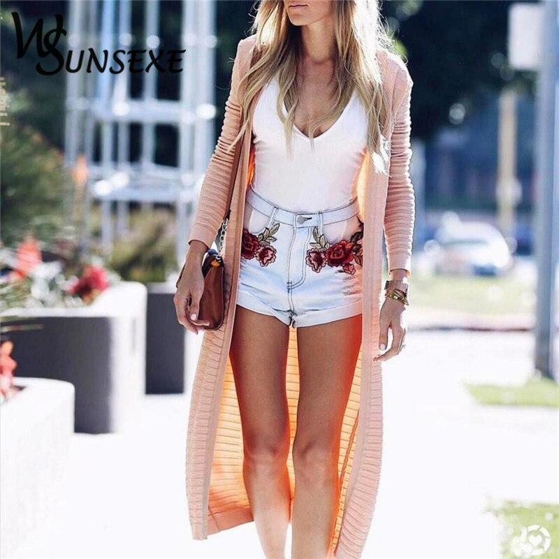 HTB1zaOmRpXXXXXRXXXXq6xXFXXXx - High Waist Shorts Denim Jeans Embroidery PTC 265