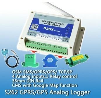 Güvenlik ve Koruma'ten Erişim Kontrol Kitleri'de GSM SMS GPRS sıcaklık göstergesi uzun mesafe izleme kablosuz uzaktan kumanda S262 title=