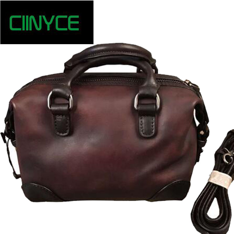 2018 New Unique Designer Original Brand Women's Genuine Cow Leather Small Handbags Vintage Satchel Cowhide Crossbody totes Bags new designer handbags satchel genuine cow leather totes crossbody bags single shoulder vintage women s solid hasp hard bags