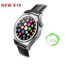 NEUE X10 Voll Runde Smartwatch Herzfrequenz Tracker MTK2502 BT4.0 Gesundheit Tracker Smart uhr für IOS Android unterstützung Dutch Arabisch
