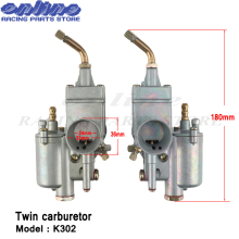 New 1 pair Left & Right 28mm Carb Pair Vergaser Carburettor Carby fit for K302 BMW M72 MT URAL K750 MW Dnepr