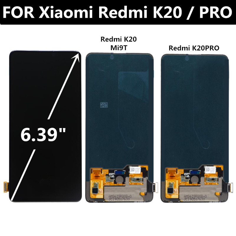 LCD pour Xiao mi rouge mi K20 PRO LCD écran tactile numériseur assemblée remplacer pour Xiao mi 9 T mi 9 rouge mi K20 LCD