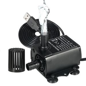 Image 2 - Outdoor Fountain Water USB Pump with LED Light Submersible Pump for Aquarium Fish Tank Pond Hydroponics