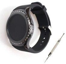 Correa para samsung gear s2 classic sm-r732 watch deporte durable correas de reloj de silicona para moto 360 2nd smart watch hombres 42mm