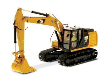 Collectible Alloy Model Gift DM 1:50 Caterpillar Cat 320F L Hydraulic Excavator Engineering Machinery DieCast Toy Model 85931