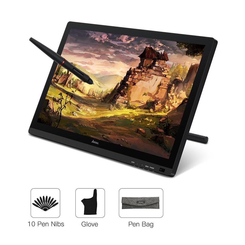 Artisul D22S Battery-free Graphic Tablet Monitor de Exibição Caneta 21.5 polegada Desenho Digital Tablet 8192 Níveis IPS