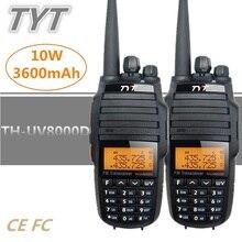 2PCS 10KM TYT TH-UV8000D Scan Monitor VHF UHF CB Radio Comunicador Mobi
