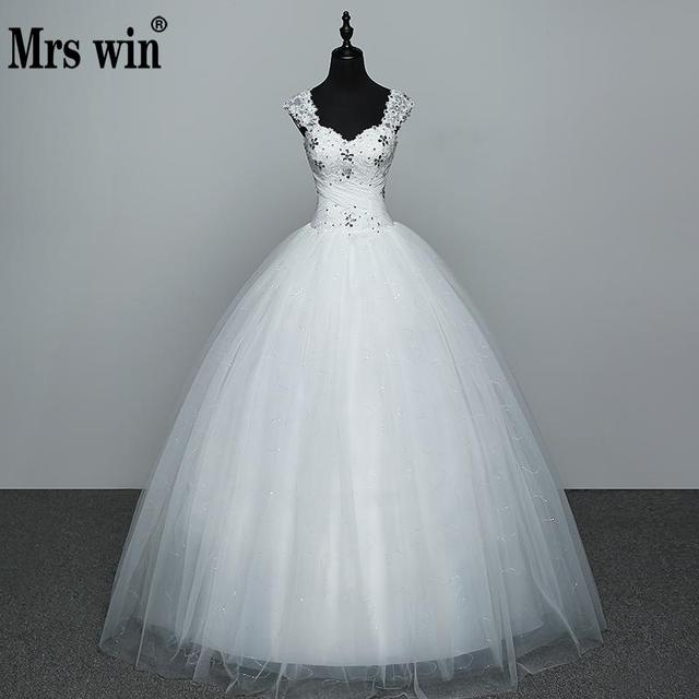 Real Photo Wedding Dress 2020 Hot Sale Applicue Simple Lace Cheap Wedding Gown With Beading Vestido De Noiva Imported china