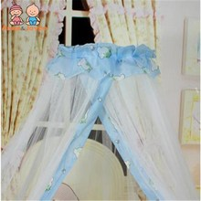 Bed Linings Baby Bed Mosquito Dome Palace Style Crib Netting TRQ1257