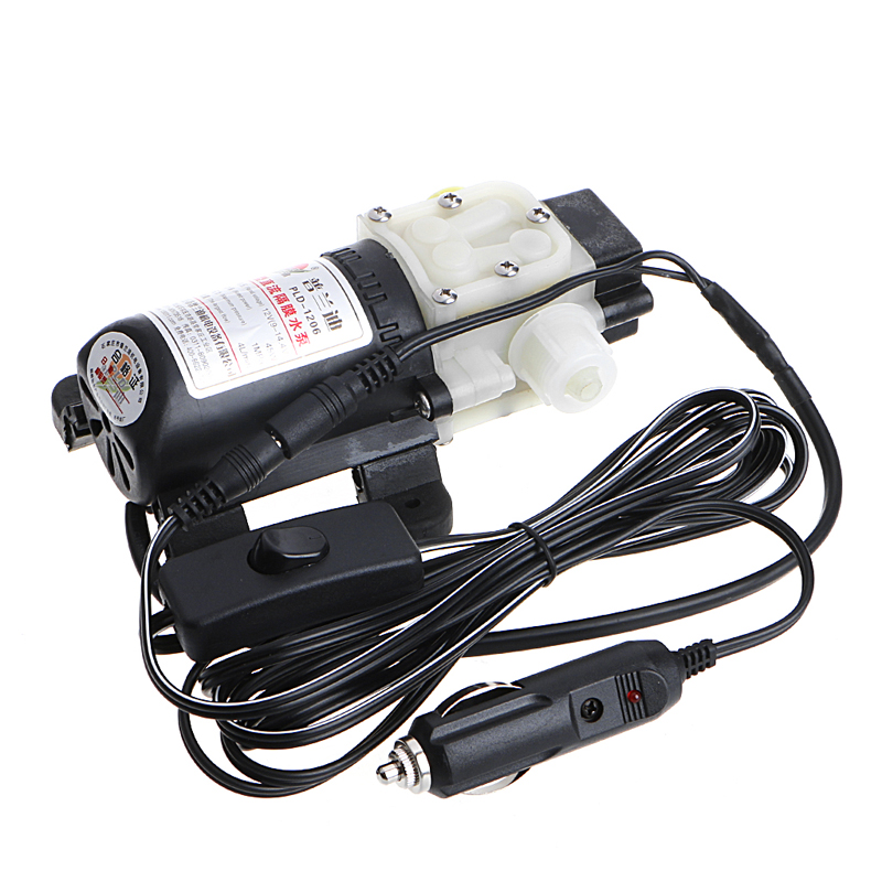 New Hot 12V 45W Car Electric Oil Diesel Fuel Extractor Transfer Pump w/Cigarette Lighter