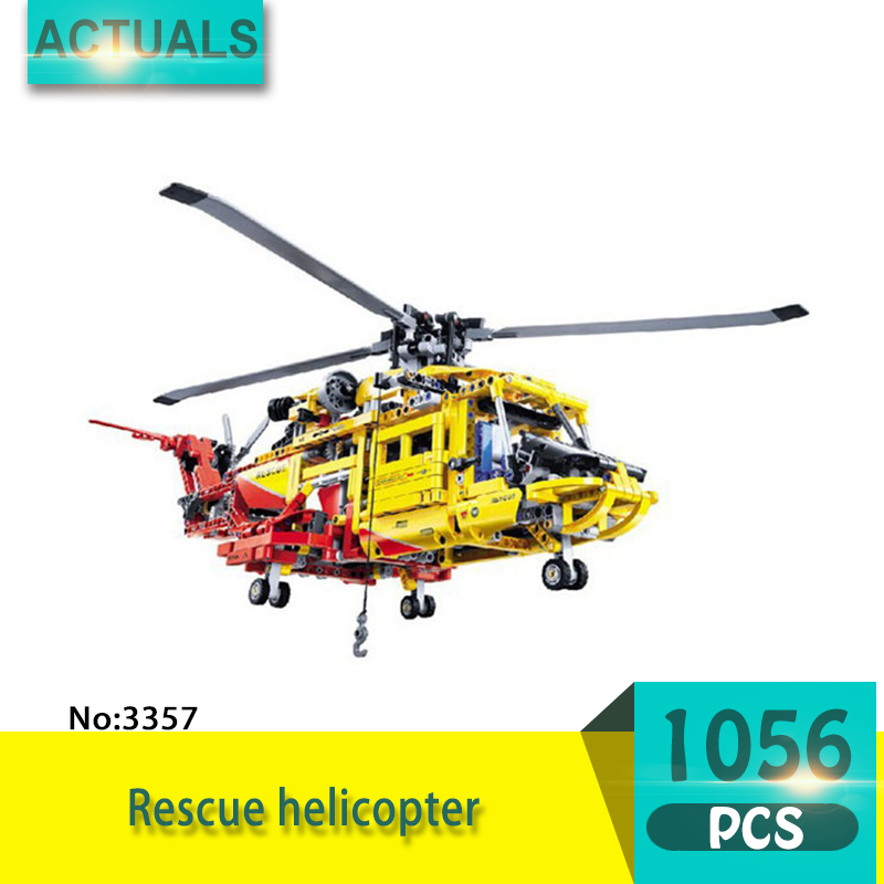 Decool 3357 1056Pcs Deformation series Rescue helicopter Model Building Blocks Bricks Toys For Children wange Gift ninjago juguetes military series armed helicopter blocks decool plastic diy educational bricks building model toys for children