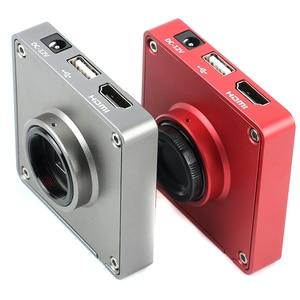 Image 2 - 3.5X 7X 45X 90X 37MP HDMI USB Video Camera Articulating Arm Pillar Clamp Simul Focal Industrial Trinocular Stereo Microscope