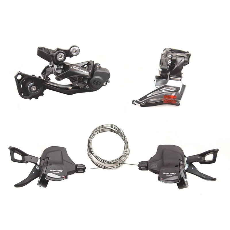 SHIMANO DEORE M6000 2x10 20S Speed Small Kit Include Shifter Levers Front & Rear Dearilleur shimano br bl deore m6000 hydraulic disc brake lever