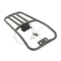 Fender Luggage Rack Black Fits for Harley Softail Deluxe FLSTN 06 18 Fatboy 2007 2018 2016 Motorcycle