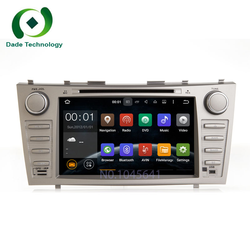 For TOYOTA camry 2007-2011 2 din Quad Core Android 5.1.1 Car DVD GPS navigation 2din car radio audio car multimedia car stereo